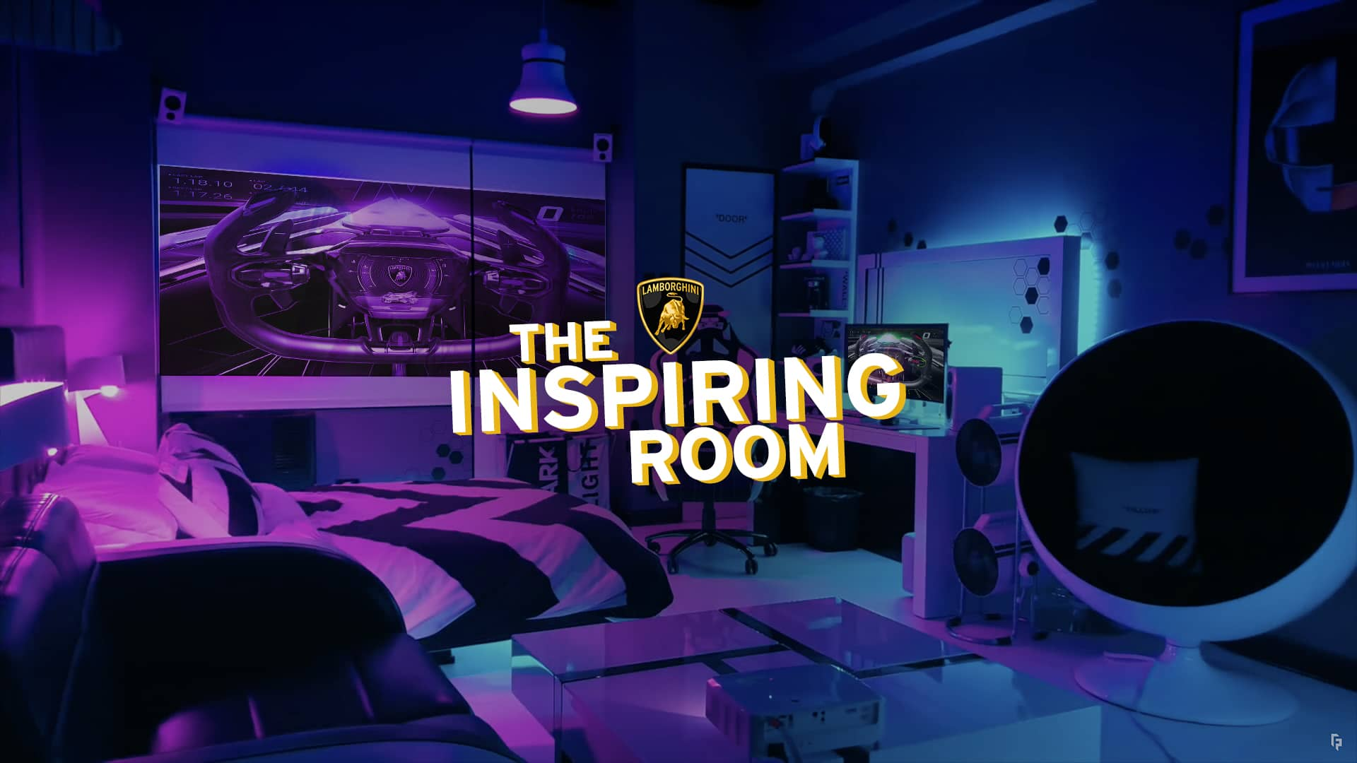 Lamborghini the inspiring room twitch